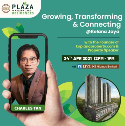 FB Live: Growing, Transforming and Connecting @ Kelana Jaya with Charles Tan
